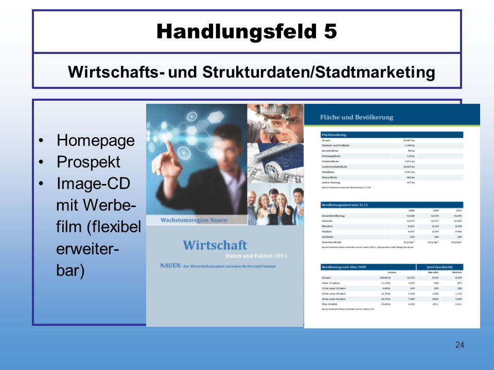 Wirtschafts- und Strukturdaten/Stadtmarketing