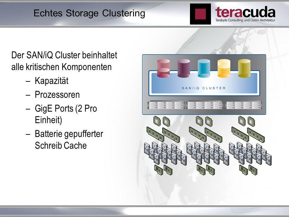 Echtes Storage Clustering