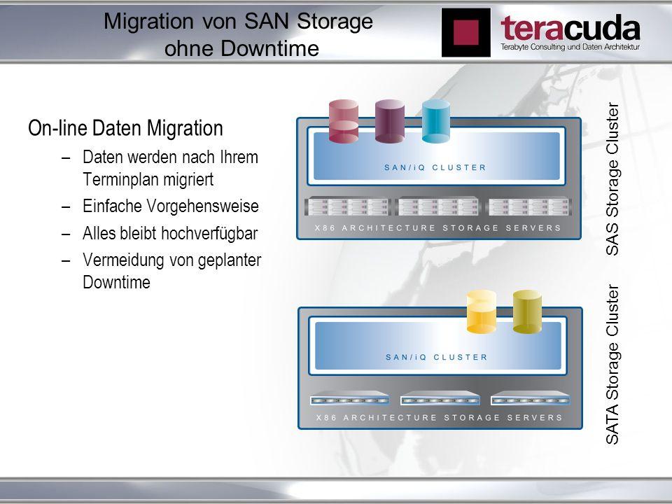 Migration von SAN Storage ohne Downtime