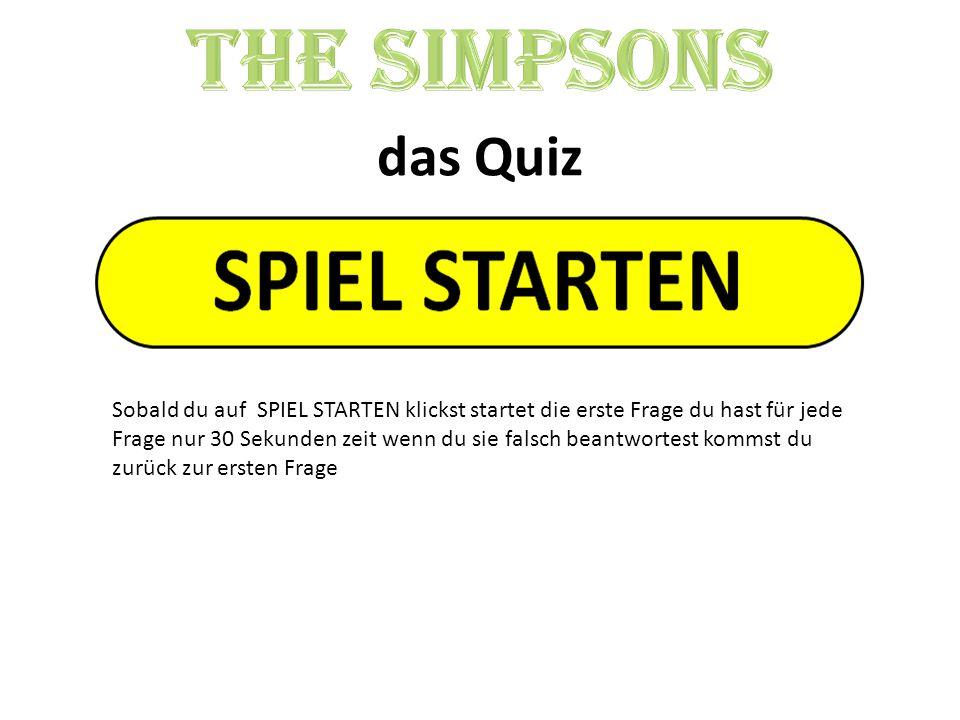 The Simpsons das Quiz.