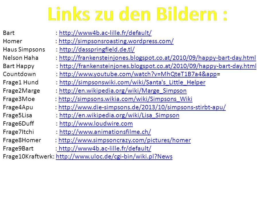 Links zu den Bildern : Bart : http://www4b.ac-lille.fr/default/