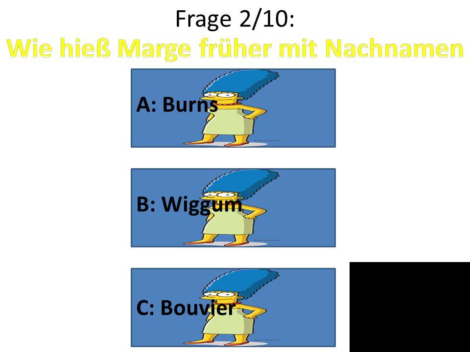 Wie hieß Marge früher mit Nachnamen