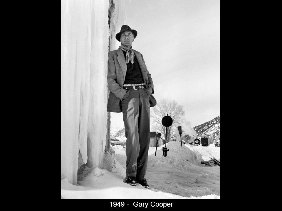 1949 - Gary Cooper