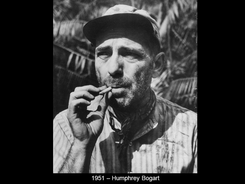 1951 – Humphrey Bogart