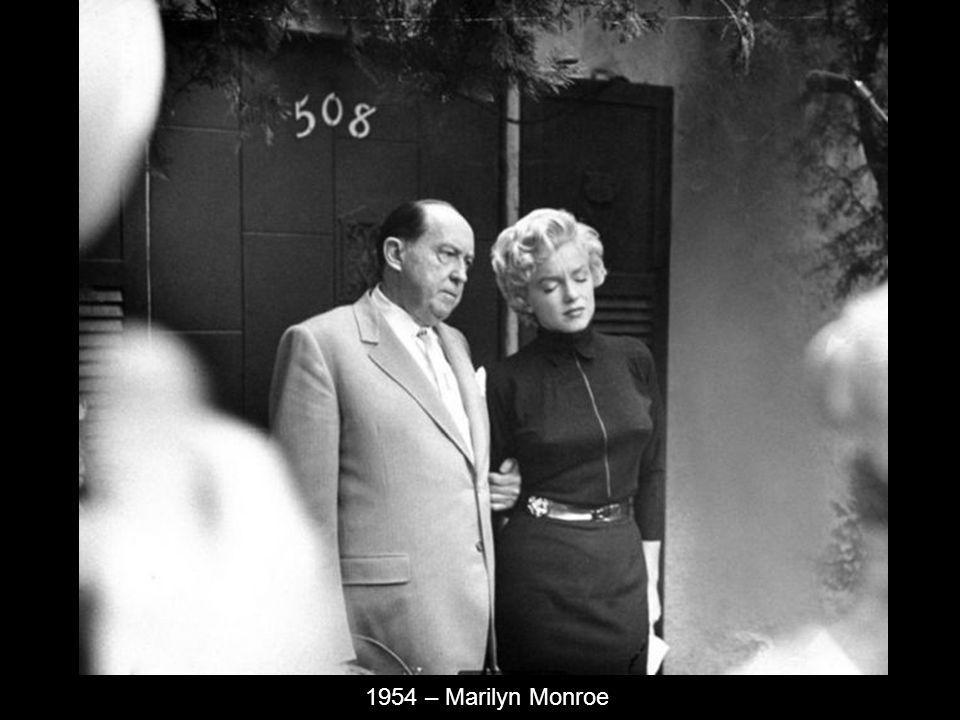 1954 – Marilyn Monroe