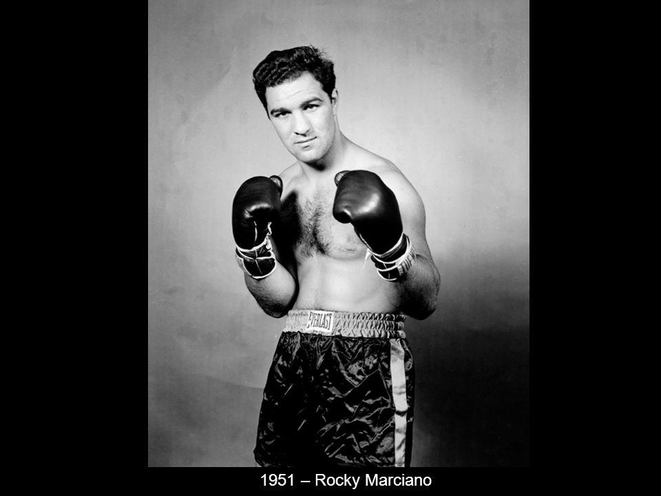 1951 – Rocky Marciano