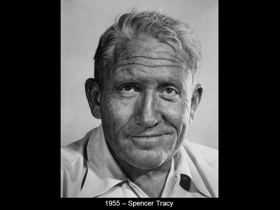 1955 – Spencer Tracy