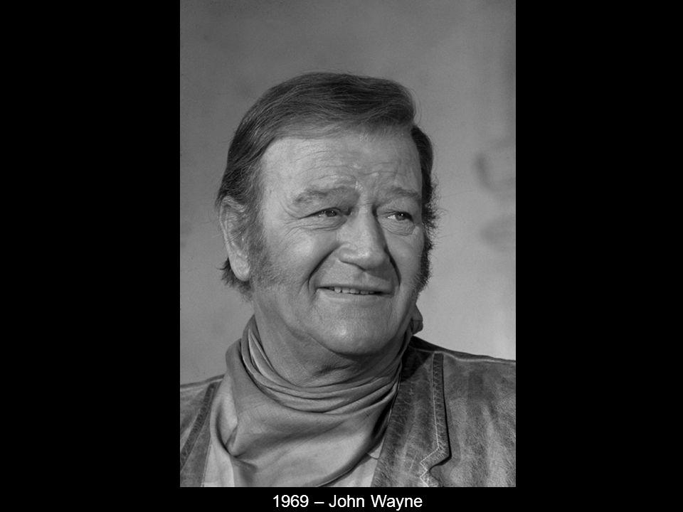 1969 – John Wayne