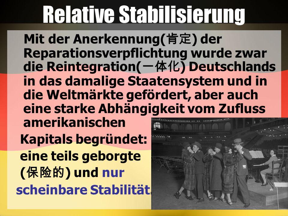 Relative Stabilisierung