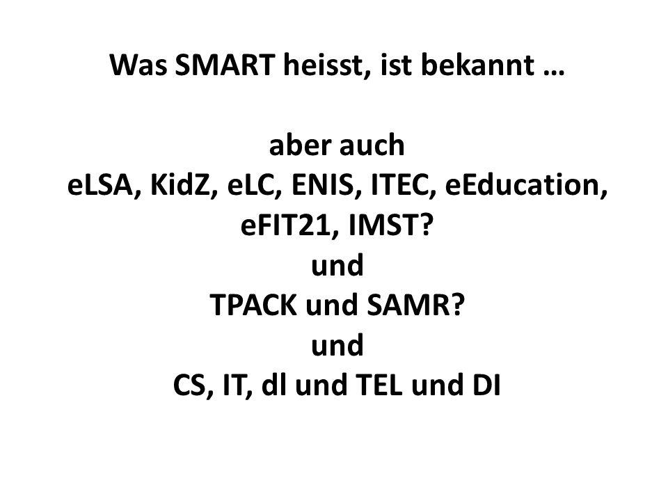 und CS, IT, dl und TEL und DI