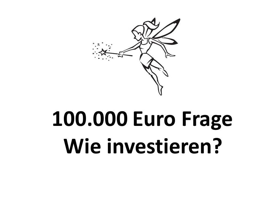 100.000 Euro Frage Wie investieren