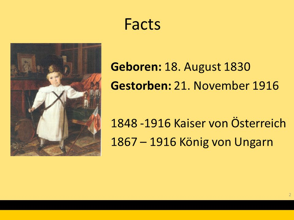 Facts Geboren: 18. August 1830 Gestorben: 21. November 1916