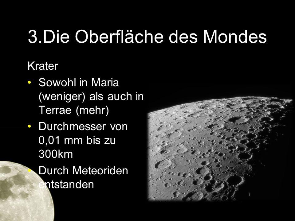 3.Die Oberfläche des Mondes