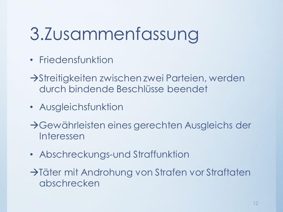 3.Zusammenfassung Friedensfunktion