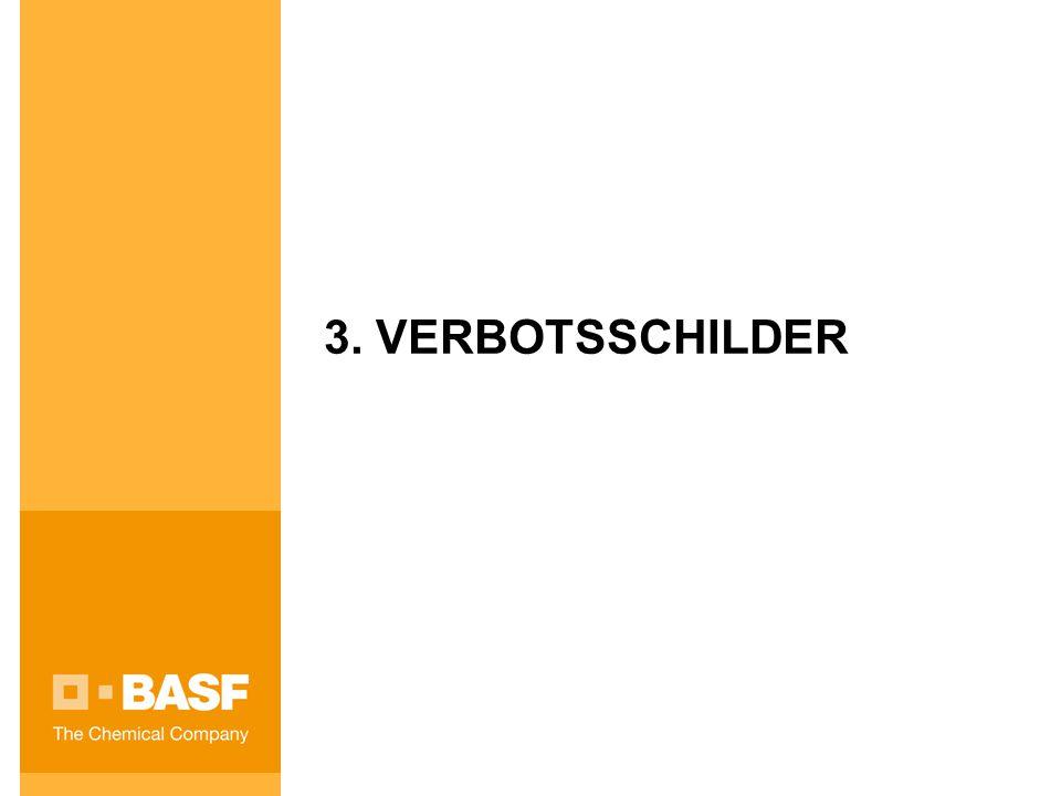 3. VERBOTSSCHILDER