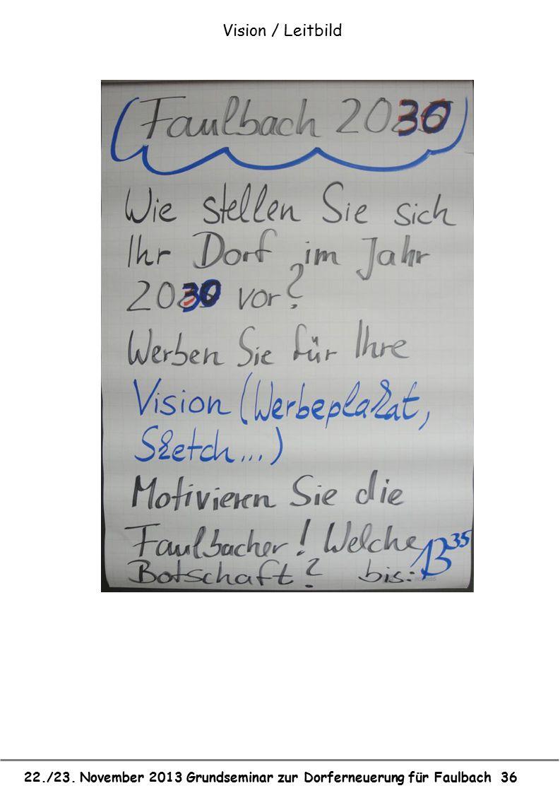 Vision / Leitbild