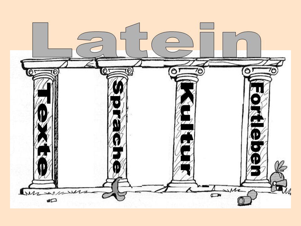 Latein Sprache Texte Kultur Fortleben
