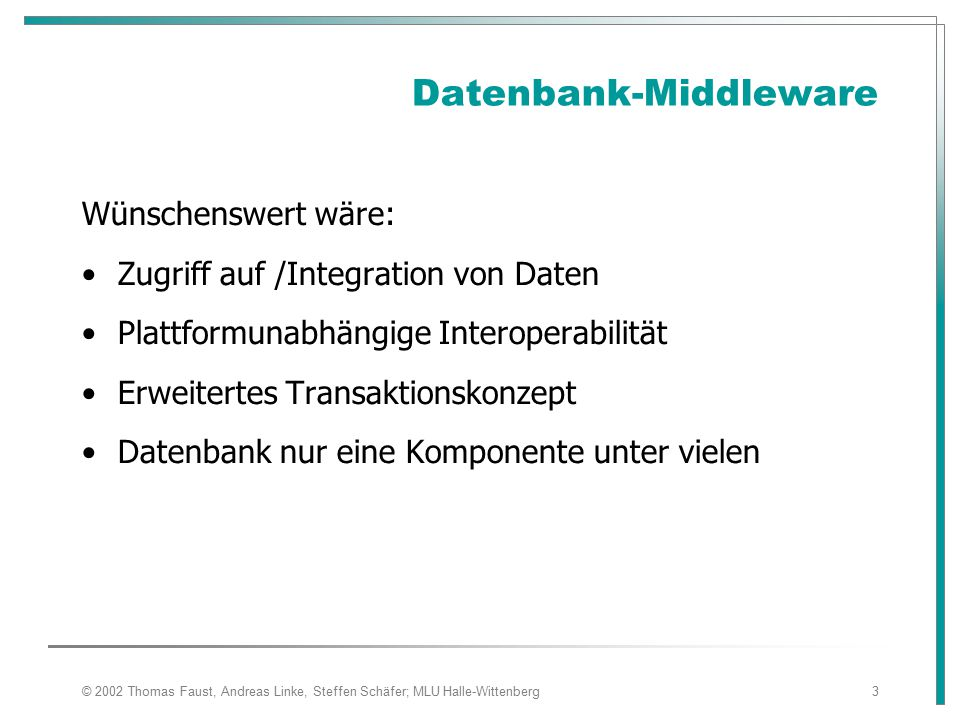Datenbank-Middleware