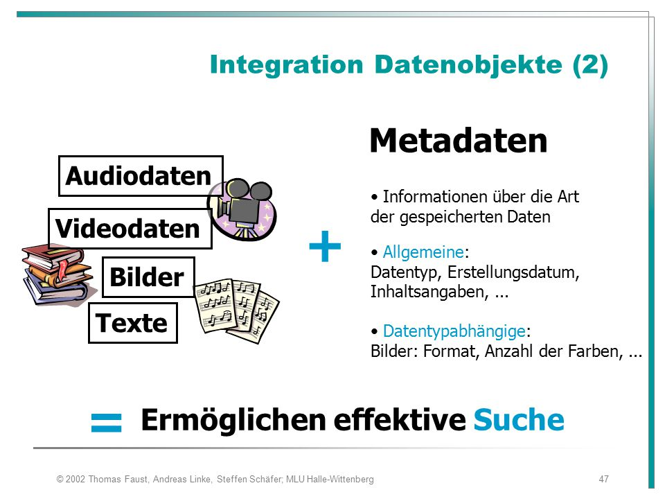 Integration Datenobjekte (2)