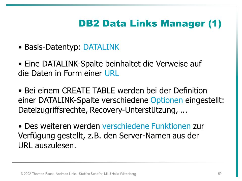 DB2 Data Links Manager (1)