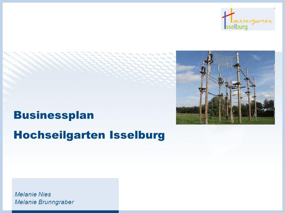 Businessplan Hochseilgarten Isselburg
