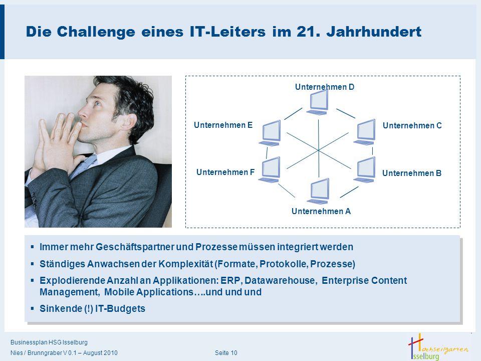 Die Challenge eines IT-Leiters im 21. Jahrhundert