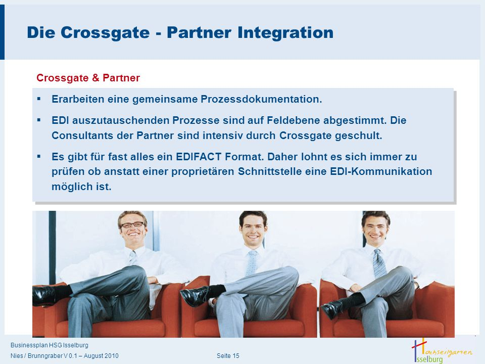 Die Crossgate - Partner Integration