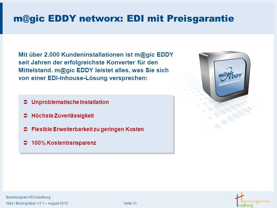 m@gic EDDY networx: EDI mit Preisgarantie