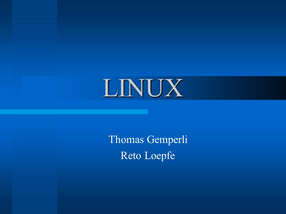 Thomas Gemperli Reto Loepfe