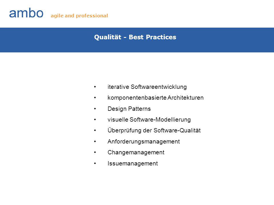 Qualität - Best Practices