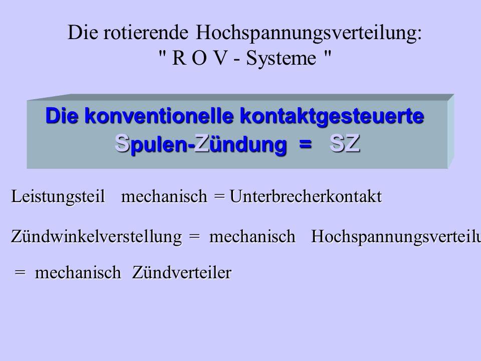 Die rotierende Hochspannungsverteilung: R O V - Systeme