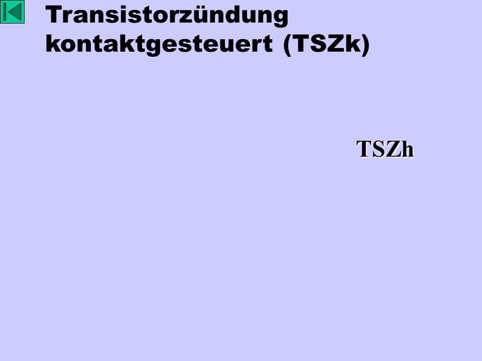 Transistorzündung kontaktgesteuert (TSZk)