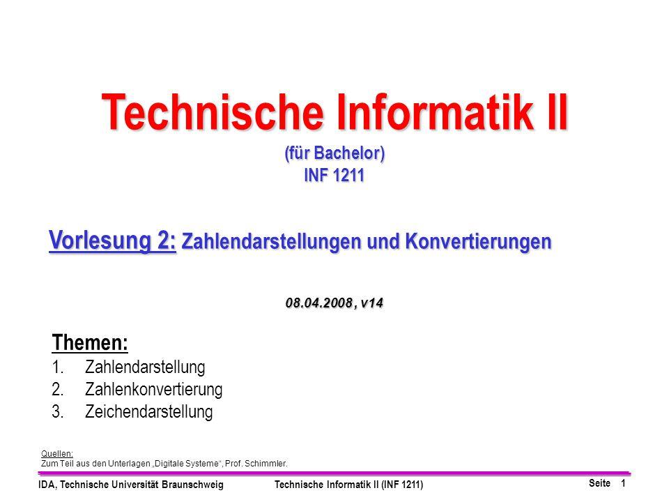 Technische Informatik II