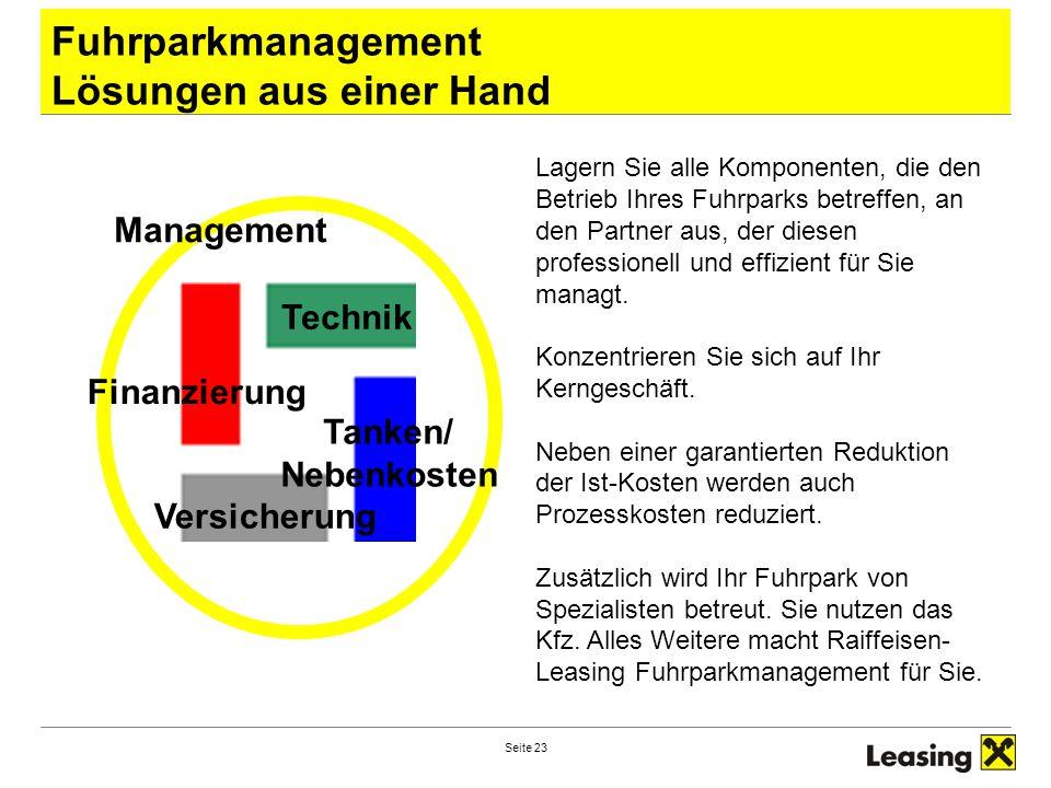 Fuhrparkmanagement Lösungen aus einer Hand