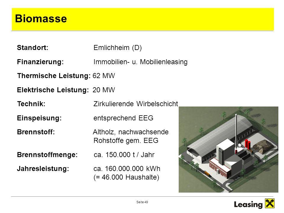 Biomasse Standort: Emlichheim (D)