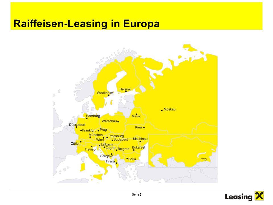 Raiffeisen-Leasing in Europa