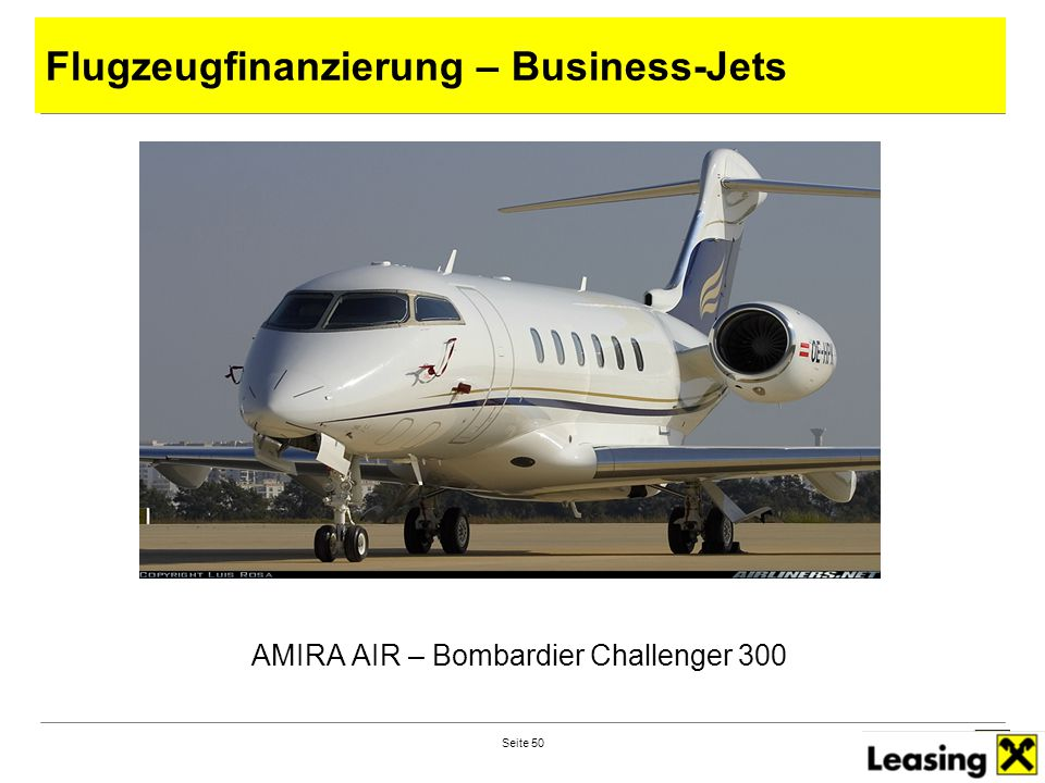 AMIRA AIR – Bombardier Challenger 300