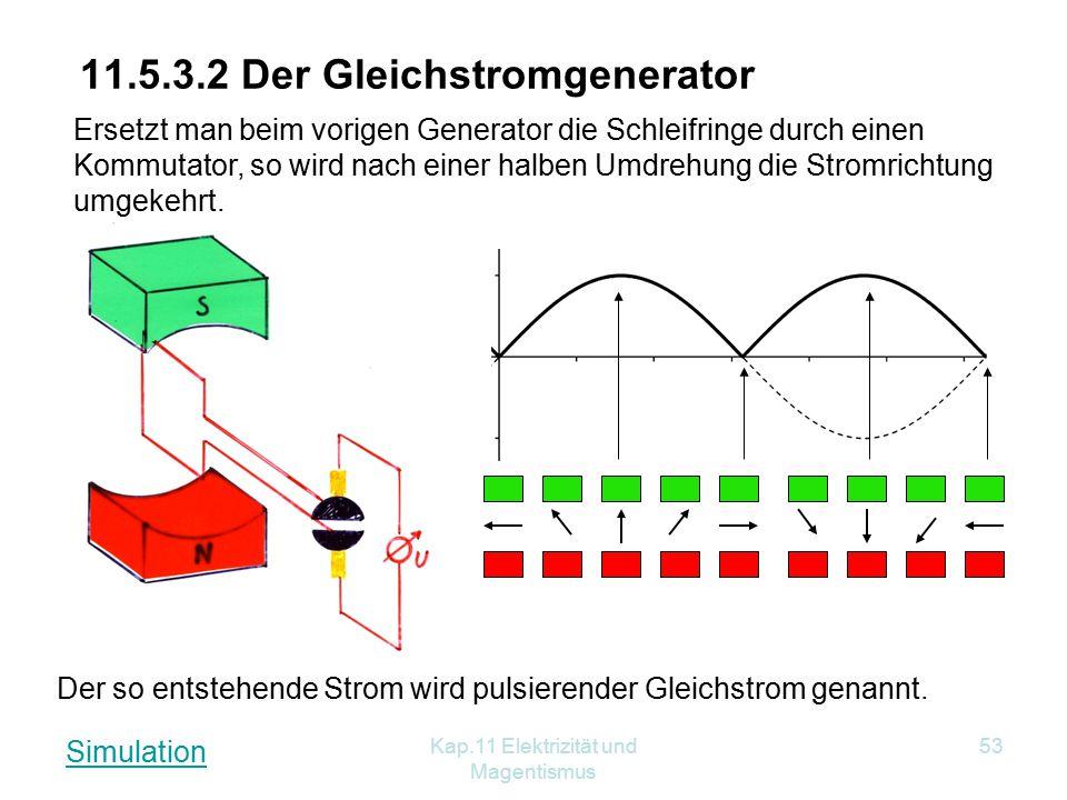 11.5.3.2 Der Gleichstromgenerator