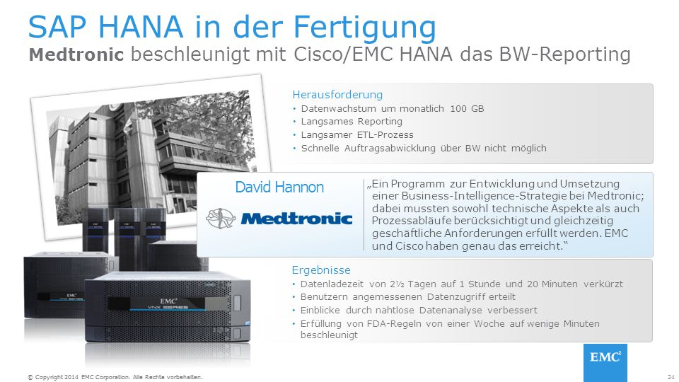 SAP HANA in der Fertigung