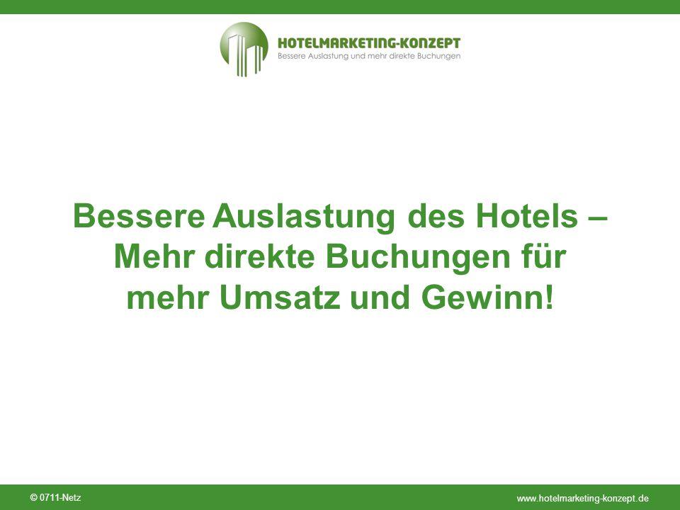 Bessere Auslastung des Hotels – Mehr direkte Buchungen für mehr Umsatz und Gewinn!
