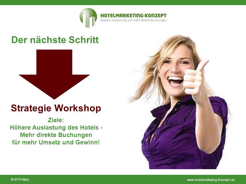 Der nächste Schritt Strategie Workshop