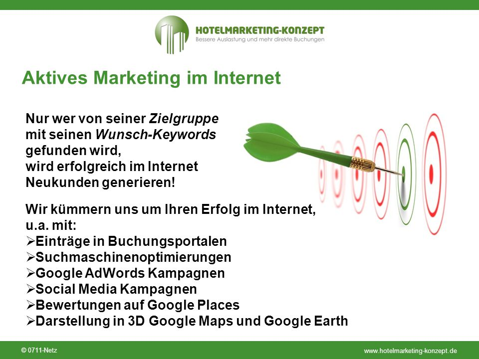 Aktives Marketing im Internet