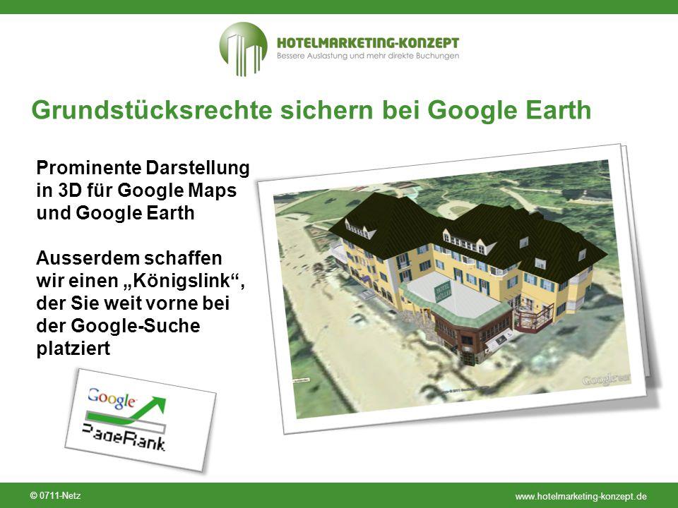 Grundstücksrechte sichern bei Google Earth