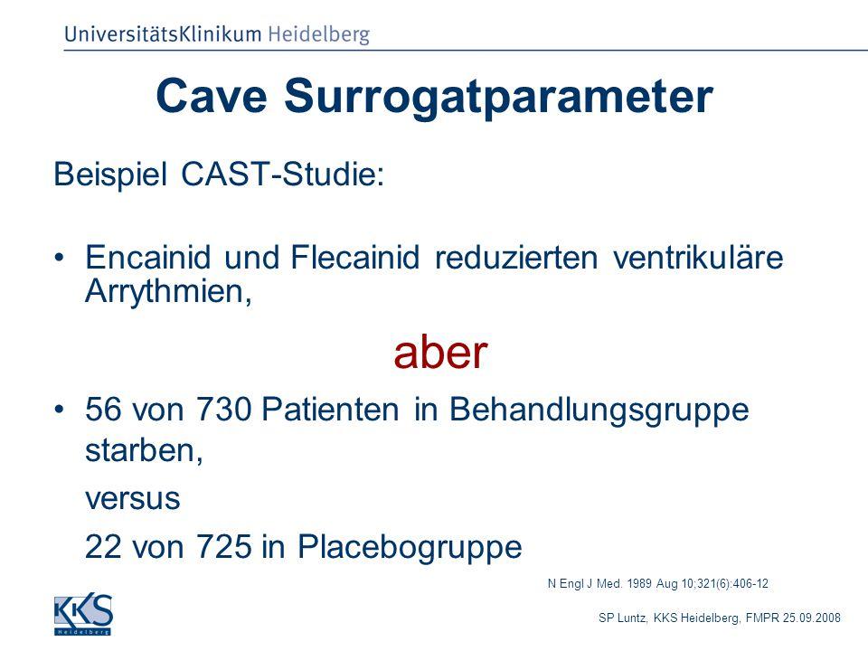 Cave Surrogatparameter
