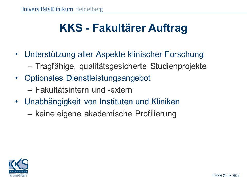 KKS - Fakultärer Auftrag