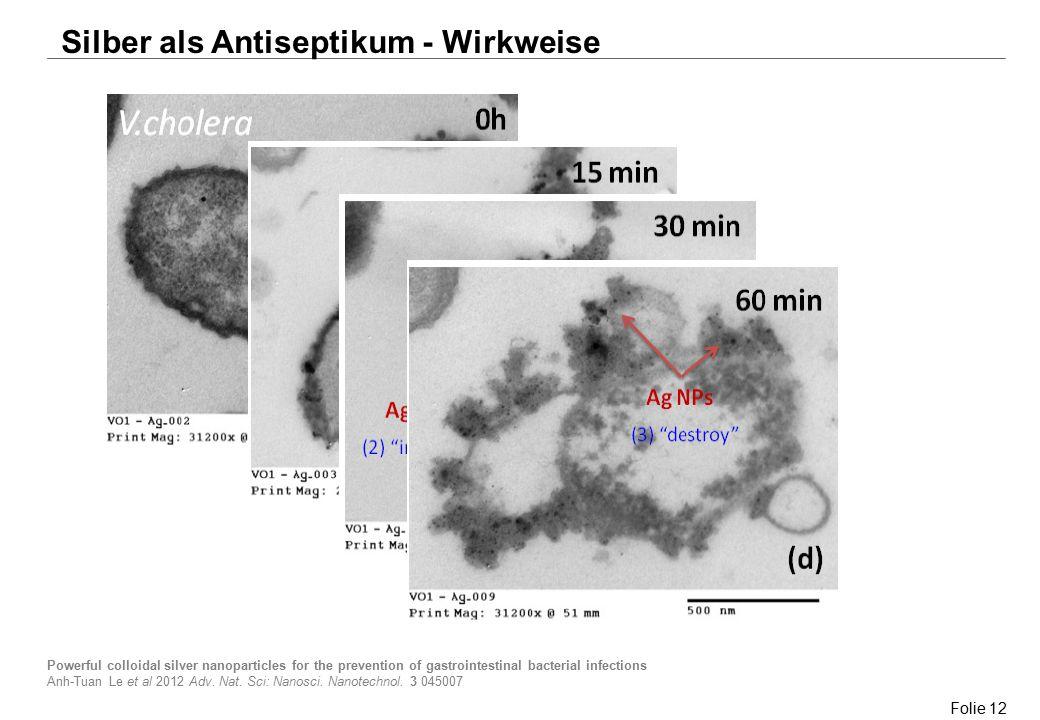 Silber als Antiseptikum - Wirkweise
