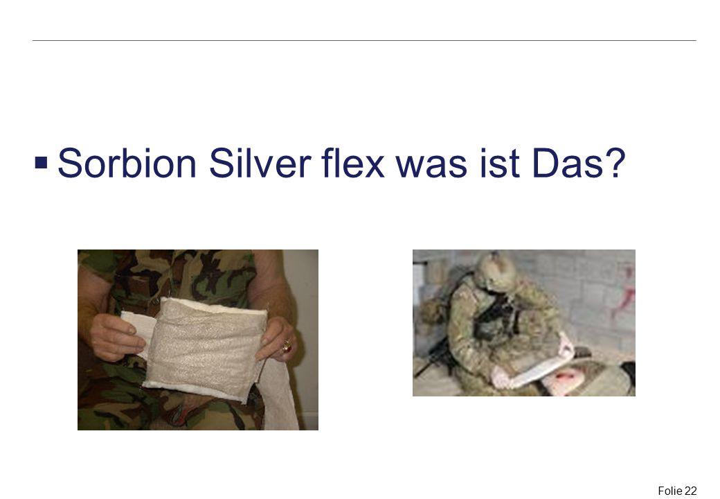 Sorbion Silver flex was ist Das