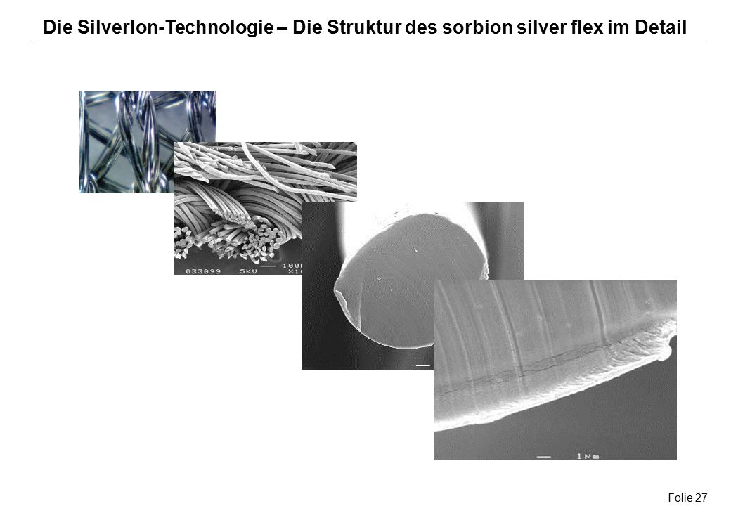 Die Silverlon-Technologie – Die Struktur des sorbion silver flex im Detail