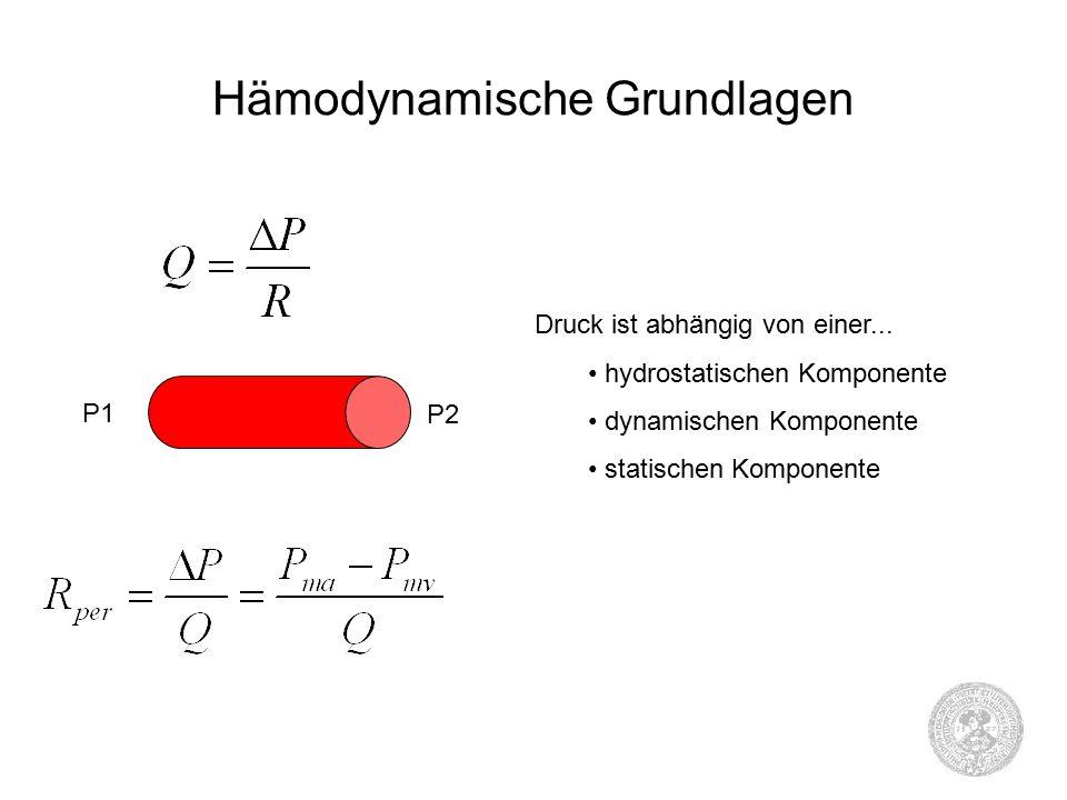 Hämodynamische Grundlagen