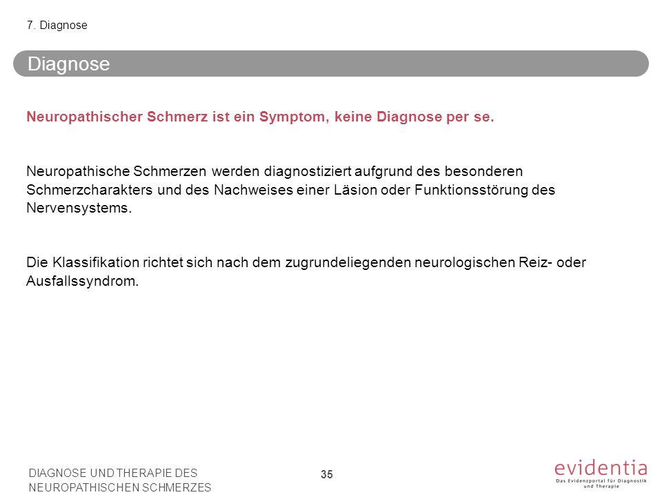7. Diagnose Diagnose.